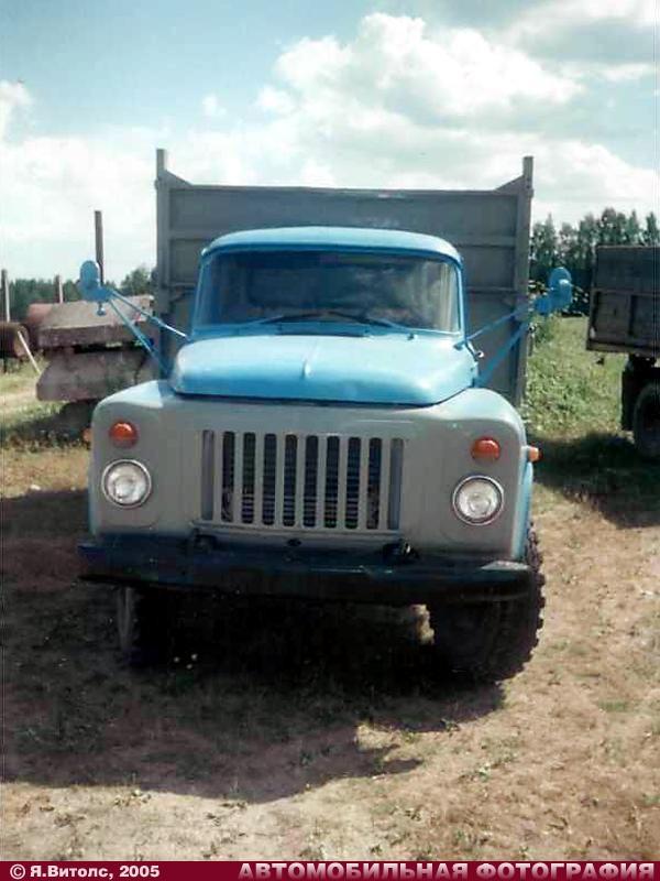 ГАЗ-САЗ-3507 (1987) (Куртиши, Латвия, 25.07.2005) .