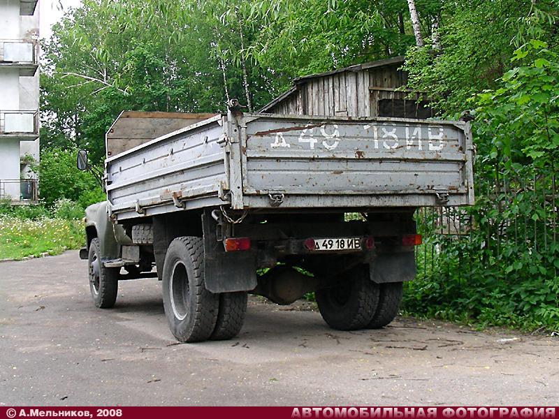 ГАЗ-САЗ-3507 (1987) (вид сзади) .