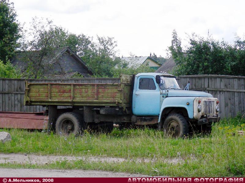 ГАЗ-САЗ-3507 (1983) (Южа, 31.07.2008) .